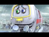 Веселые паровозики из Чаггингтона Ледяной дождь.68 (2 Сезон) - мультики про парово...