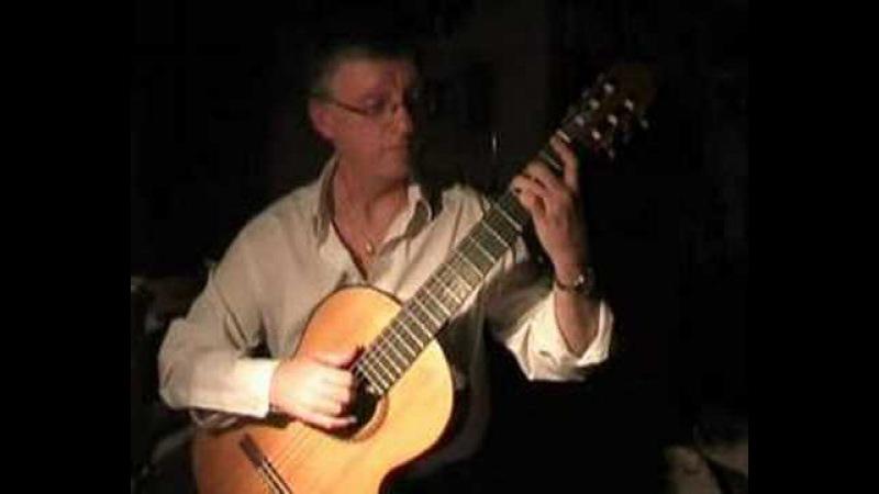 J. S. Bach Air (Classical guitar) - Per-Olov Kindgren