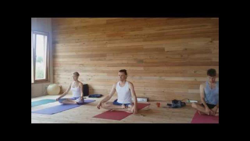 Йога Сукшма Вьяяма и Хатха Вариант практики 2