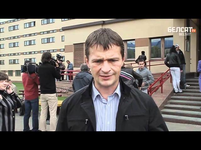 Алег Воўчак пра памылку пракурора на судзе (Выбух адбыўся 11 жніўня)