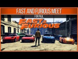 GTA 5 Fast and Furious Car Meet #ForPaul