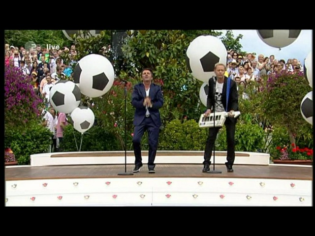 Anders | Fahrenkrog - No More Tears On The Dancefloor (EURODISCO mix, ZDF-Fernsehgarten 26.06.2011)