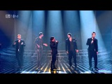 Take That - The Flood Live Robbie Williams Reunion Performance 15 Years