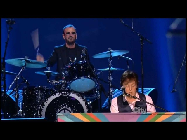 The Beatles: The Night That Changed America - Hey Jude - exerpt from Beatles Salute - Paul Ringo