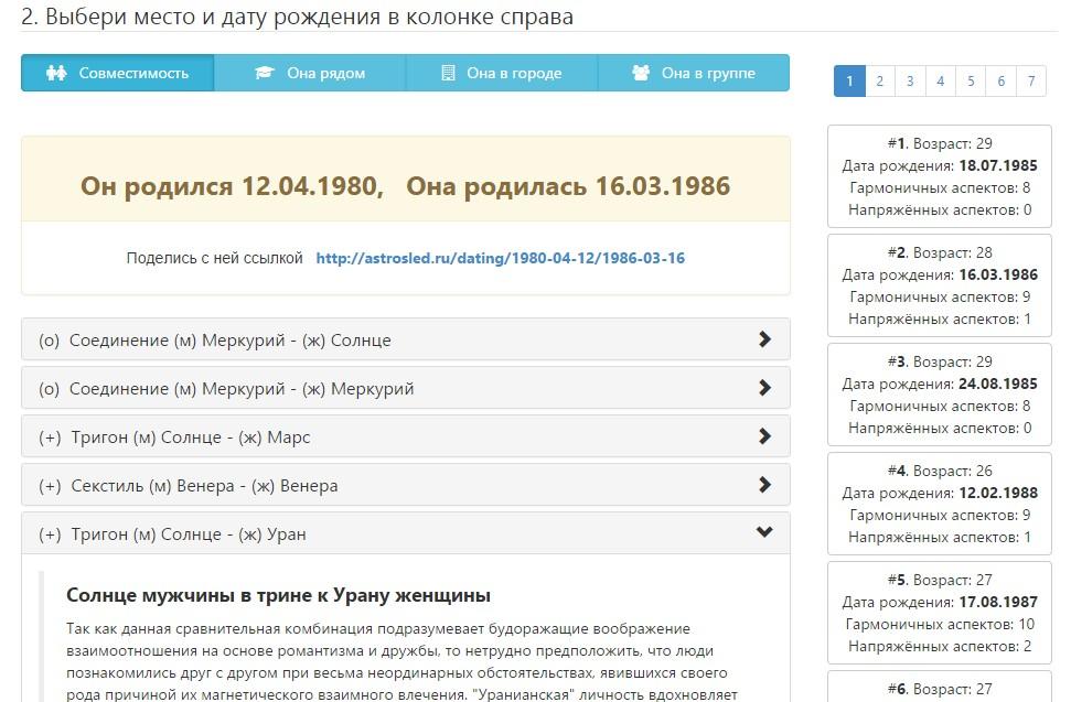 Гороскоп совместимости знакомства по совместимости и цзин украинские сайты знакомств бесплатные