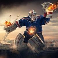 Вратари  КХЛ и НХЛ