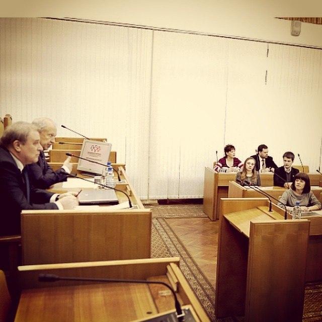 Заседание Совета молодежного парламента