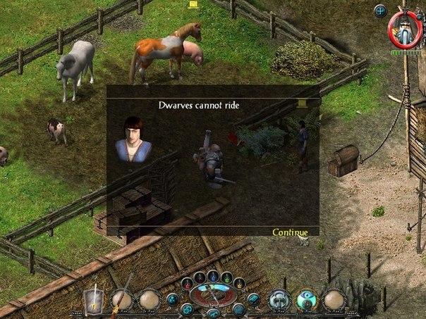 Гном - мастер античных технологий и неистовый боец ближнего боя