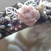 Ободки с цветами, камнями и стразами.