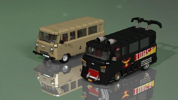 Схемы для сборки LEGO :: Тема: