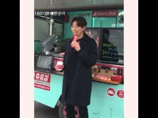 """2AM jinwoon fan😊예쁜운아😊직캠,직찍 on Instagram: """"160120 #마담앙트완 츄러스서폿!! #정진운 @jinwoon52 @sui"""