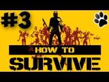 How To Survive. Прохождение 3. Учимся выживать вместе с Коваком...