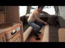 レクビィ製キャンピングカー「ハイエースプラスLV」ベッドメイク 2011