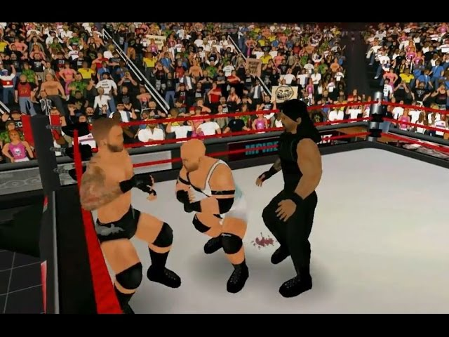 Randy Orton vs Ryback vs Roman Reigns (WWE RAW 06.04.15). Part 3