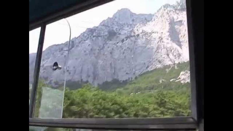 Канатная дорога на Ай-Петри / Ai-Petri cableway.