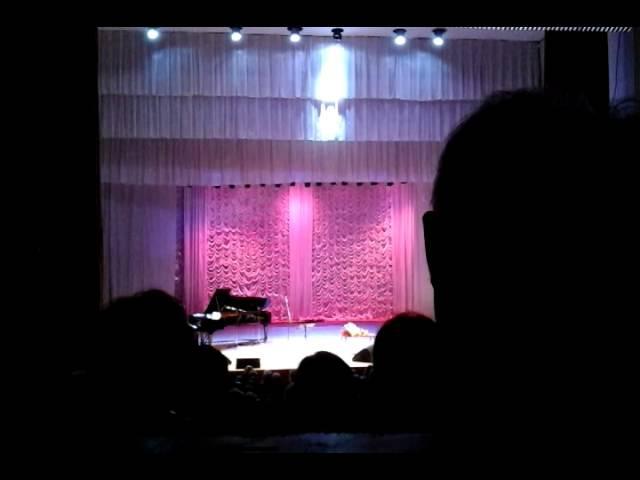 СЕРГЕЙ ЗАХАРОВ, н.а. России, Концерт в Нижнем Новгороде -1 отделение