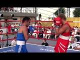 The light-welterweight (64 KG) bout. Arturs Ahmetovs (LAT) VS. Maxim Akopov (RUS)
