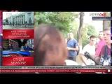 Нападение на журналистку УкроСМИ под Верховной Радой в Киеве 31.08.2015 18+ - Video Dailymotion