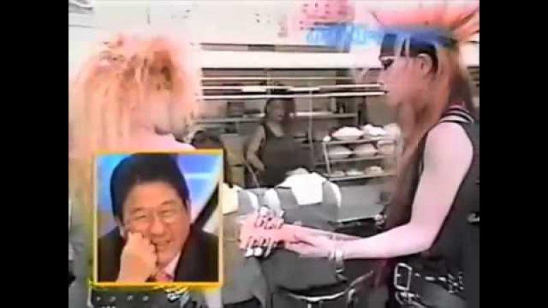 X JAPAN -Orgasm- Live @ cheap restaurant '87