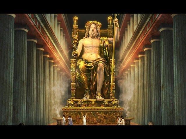 Древнегреческие боги - представители Атлантиды