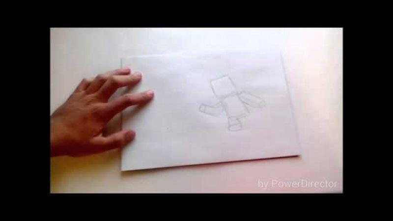 Рисуем майнкрафт кадр из MCSM