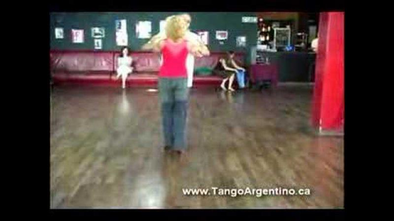 Tango Argentino clase en El Beso Milonga con Traspie