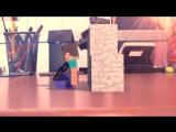 Minecraft Анимация - Битва игр (Minecraft vs LEGO)
