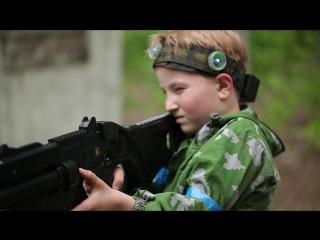 Детский лазертаг в Пейнтбольном Клубе [Арена63] г.Тольятти