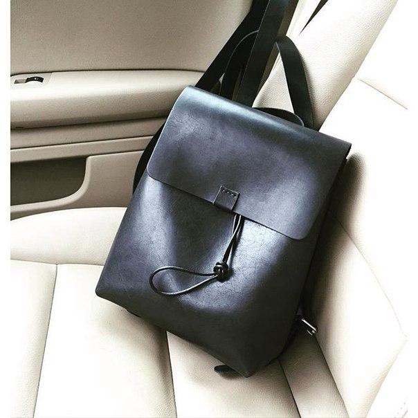 Кожаный рюкзак своими руками рюкзак deuter городской купить киев