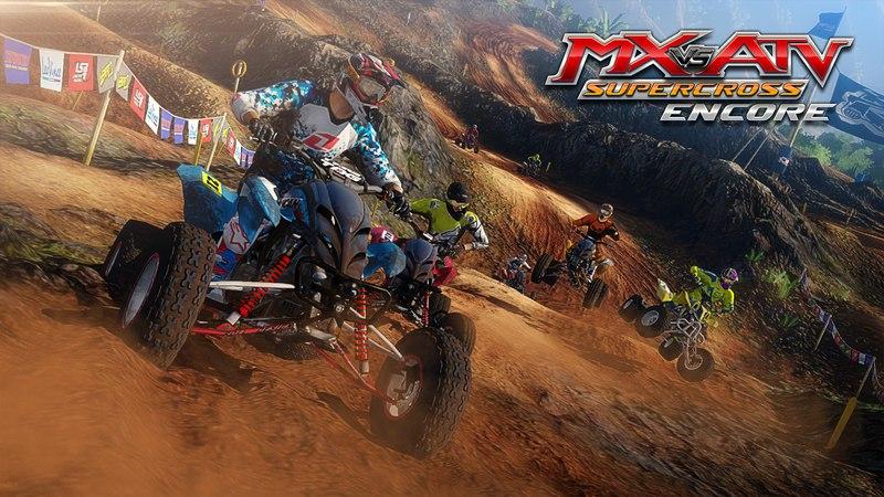 MX vs. ATV Supercross Encore скачать торрент с rutor org с rutor org