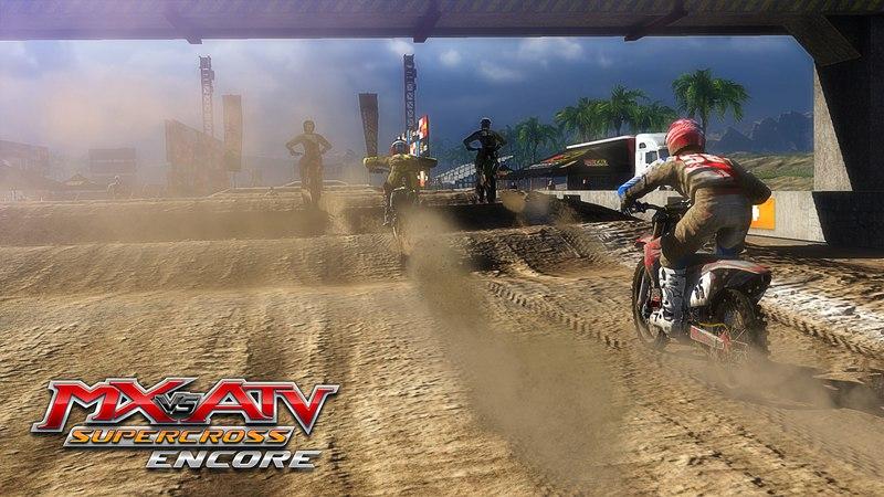 MX vs. ATV Supercross Encore скачать торрент