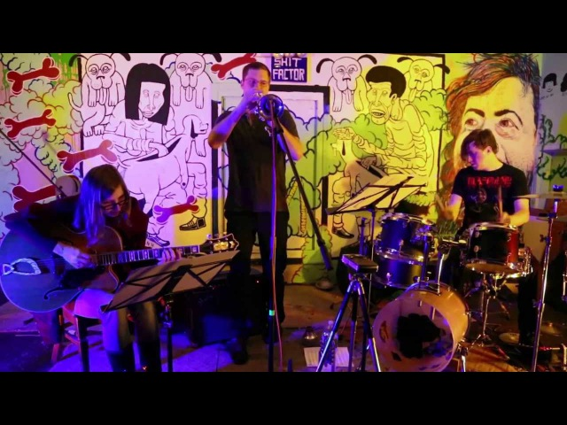 Weasel Walter, Mary Halvorson, Peter Evans - at Death By Audio, Brooklyn - Dec 9 2012