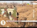 Солдати знаходять прихисток в окопах - Хроніка дня - 31.10.2014