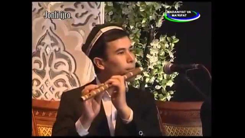 Maqom oqshomi Gulzoda Xudoynazarova, Soyib Niyozov va Munojot Yo'lchiyeva Oltin qalam