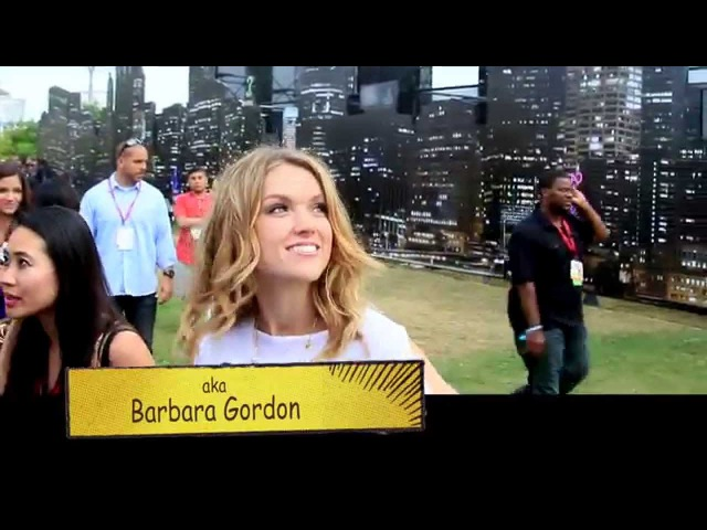 GOTHAM tv at SDCC : Erin Richards talks about her role as Barbara Kean on Fox's Gotham at Comic Con