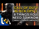 Call of Duty Black Ops 3 Zombies & Campaign: 8 Things You Need To Know