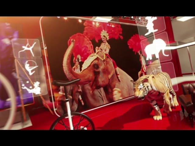Легенды цирка. Дрессировщик хищников Хамаде Кута