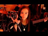 HEAVEN AND HELL - Black Sabbath cover by 11 year old Sara &amp Motion Device