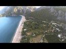 Antalya ÇIRALI sahil hava çekim videoları