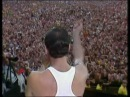 Queen Radio GaGa Live Aid Wembley London 1985