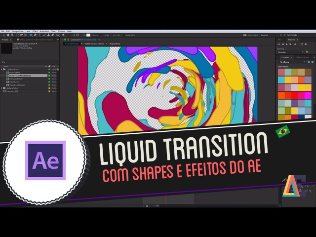 Tutorial Adobe After Effects Liquid Motion Transition