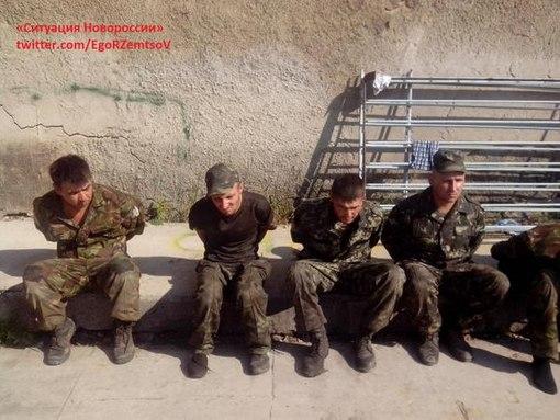 Карателями из Азова был зверски заживо спален на кресте ополченец из Новороссии