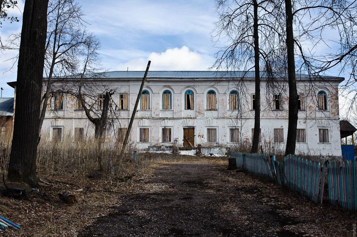 Здание конторы Полазненского завода