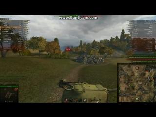 World of Tanks моя игра с бывшим полевым командиром