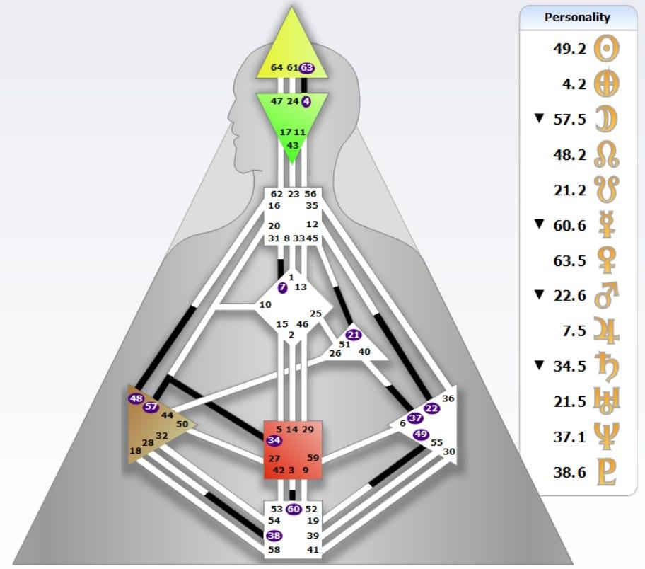 Дизайн Человека 49 ворота