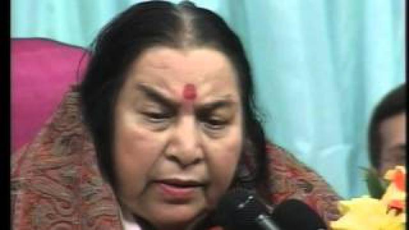 Лекция Шри Матаджи - пуджа Сахасраре 2004