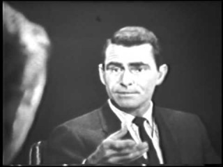 The Twilight Zone - Rod Serling Interview (1959)
