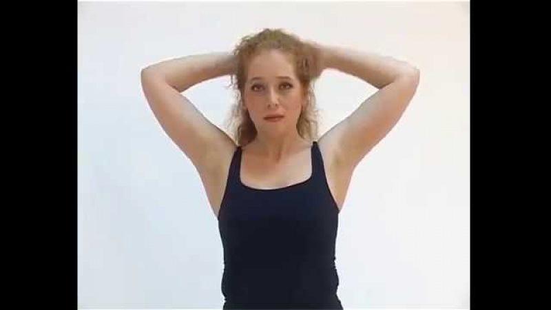 20 минут против остеохондроза Шейно грудной отдел, часть 1