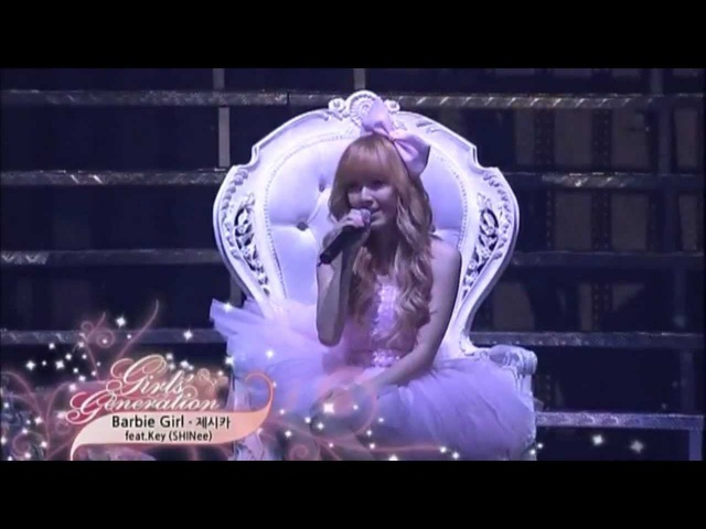 [HD 720p] Barbie Girl @ Jessica (SNSD) ft. Key - Into The New World 1st Asia Tour