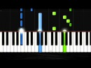 Requiem for a Dream - EASY Piano Tutorial by PlutaX - Synthesia